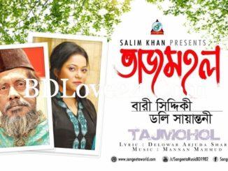 Tajmohol By Bari Siddiqui & Doly Sayontoni Bangla Full Mp3 Song Download