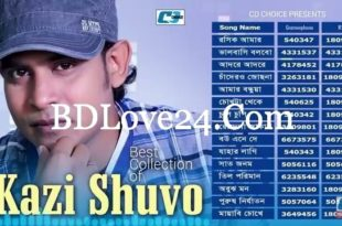 Best Collection Of Kazi Shuvo 2017 Bangla Hits Album Download 310x205 - Icche Kore (2018) Bangla Mp3 Album By Various Artists Download