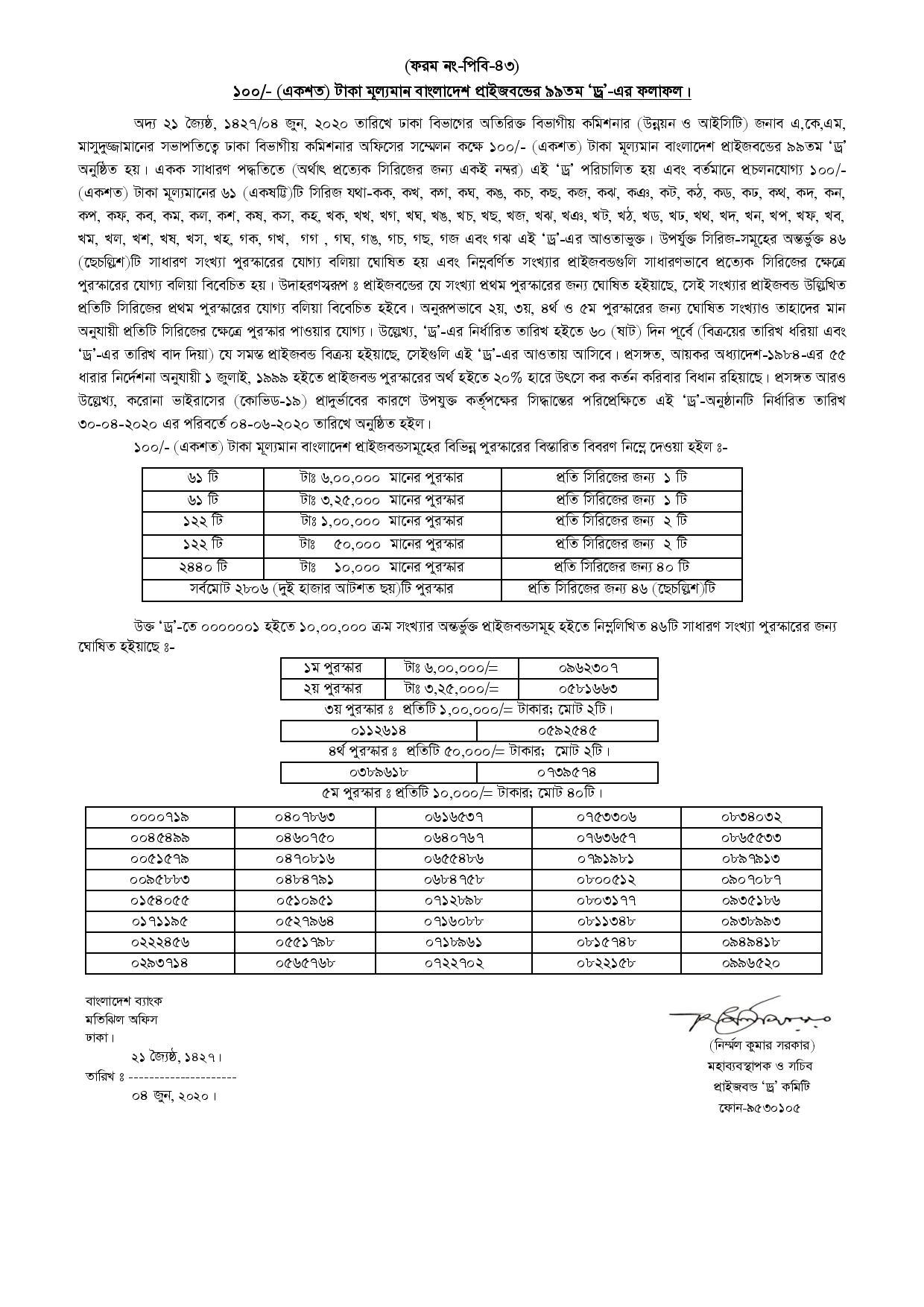 2020 06 08 09 29 bd78e06bc1ec134cb9abc933c2233470 page 001 - 101th Prize Bond Draw Result 2020 – Bangladesh Bank 100 Taka PrizeBond Draw